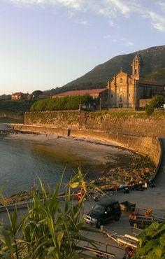 Monasterio de Santa Maria de Oia. Pontevedra. Galicia. Spain  Agosto.