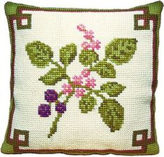 Bramble - Cross Stitch Kit (printed canvas)