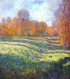 Claude Monet - Meadow, Giverny