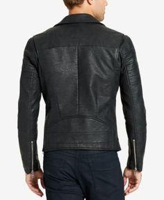 bb90897d0c5fc WILLIAM RAST Men's Faux-Leather Moto Jacket & Reviews - Coats & Jackets -  Men - Macy's