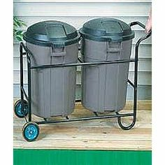 ROLLING OUTDOOR TRASH CAN HOLDERS - Google Search