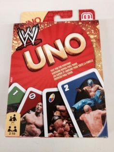 WWE Uno Card Game Cards Rey Mysterio Randy Orton Summer Slam Royal Rumble #wwe #cards #uno