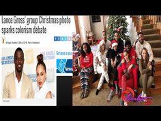 Black Women are the Butt of the Joke - Lance Gross Christmas Photo ...