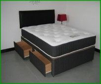 Atlas 1000 Pocket Mattress Super Kingsize Divan Bed By eXtreme Comfort  £434.99