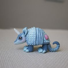 patchwork armadillo figurine Armadillo sculpture