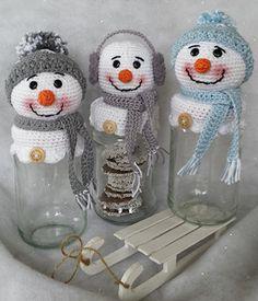 Amigurumi Passo a Passo em Portugues para Iniciantes Crochet Winter, Holiday Crochet, Crochet Home, Crochet Gifts, Crochet Christmas Decorations, Christmas Crochet Patterns, Christmas Knitting, Crochet Snowman, Crochet Amigurumi