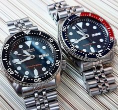 The Iconic Vintage Seiko SKX007 & SKX009 Pepsi.