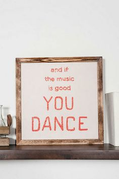 You Dance Large Wall Art