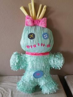 Scrump piñata..love making my kids piñatas!                                                                                                                                                                                 More