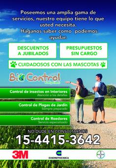 Desinsectacion fumigacion CABA Argentina