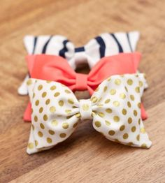 I am completely obsessed with bows.... Don't know why... I just REALLY like bows! :D