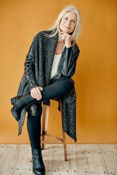 Moda inverno: simples, bonita e muito confortável - Viva 50 por Maria Celia e Virginia Pinheiro