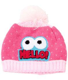 Bizarro Best Pink Woollen Cap For Kids