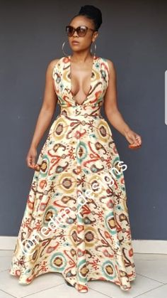 Woman Fashion Dresses - Just another WordPress site African Maxi Dresses, Latest African Fashion Dresses, Ankara Dress, African Print Fashion, Africa Fashion, African Attire, African Wear, Ethnic Fashion, African Women