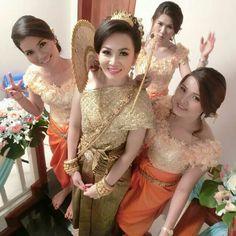 Cambodia traditional wedding