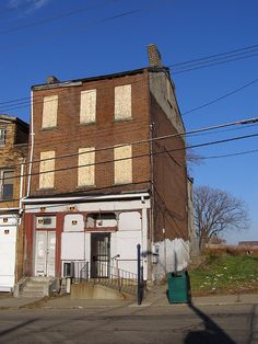 Pittsburgh PA: Hill District - August Wilson's Birthplace