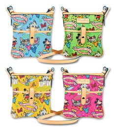 dooney and bourke disney bags. I should have gotten one last time I was at disney but I decided against it. now im mad. lol