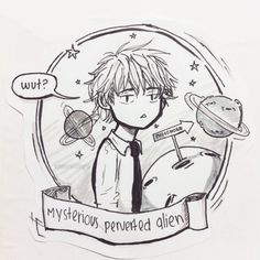 The mysterious perverted alien from planet pheromone, Usui Takumi