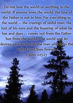 Image result for 1 John 2:15-17