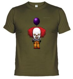 Camisetas Pennywise (It) sin texto