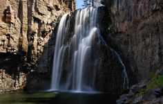 Rainbow Falls by Cliff LaPlant, Devils Postpile National Monument, California