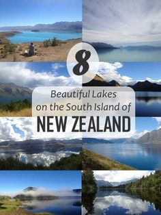 New Zealand, the most beautiful country in the world and the country that stole my heart. Check out these gorgeous lakes and you'll understand why!: