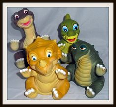 Land Before Time Pizza Hut puppets