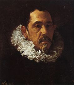 """Diego Velázquez Portrait of Francisco Pacheco,c. 1622 Museo del Prado, Madrid, Spain """"Pacheco was a Spanish painter, best known as the teacher and father-in-law of Diego Velázquez. Infanta Margarita, Spanish Painters, Spanish Artists, Caravaggio, Rembrandt, Renaissance, Diego Velazquez, Baroque Art, Chef D Oeuvre"""