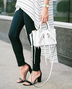 White mini purse   Three Fabulous Fall Trends You Can Start Wearing In August – Sydne Style