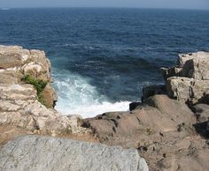 The Giant's Stairs, Bailey Island, Maine