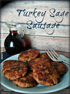 Turkey Sage Sausage Patties - - Let's be honest. How many of you set a New Year's Resolution to eat better? I am guessing a lot of Americans said that just a couple of days ago. Part of eating right is eating a balanc…. Whole30 Breakfast Sausage, Paleo Breakfast Casserole, Turkey Breakfast Sausage, Homemade Breakfast Sausage, Delicious Breakfast Recipes, Homemade Turkey Sausage, Ground Turkey Sausage, Ground Meat, Bon Appetit