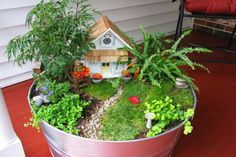 Que bonito para el jardin! 30 Ideas para hacer de tus macetas algo mágico - Vida Lúcida