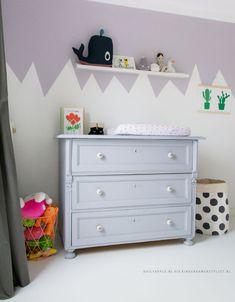 Meisjes peuterkamer | Kinderkamer en Babykamer Inspiratie | via Instagram dailyapple