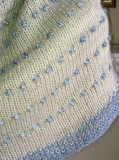Ravelry: Dot Shawl pattern by Casapinka Bind Off, Ravelry, Knitted Shawls, Free Pattern, Knit Crochet, Dots, Knitting, Creative, Coven