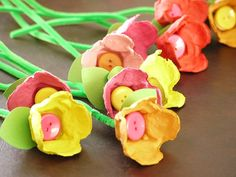 egg carton crafts for kids & craft egg carton ; egg carton crafts for kids ; egg carton crafts for adults ; craft with egg carton kids Kids Crafts, Toddler Crafts, Easter Crafts, Easter Art, Christmas Crafts, Egg Box Craft, Make Your Own, Make It Yourself, Egg Carton Crafts