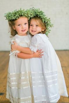 Lace Flower girl dress Heirloom Vintage Dress Ivory