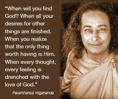 - Paramahansa Yogananda -when you realize God/Goddess/Source/DivineUniverse/GreatSpirit/Creator is inside you and all around you Spiritual Awakening, Spiritual Quotes, Rumi Quotes, Inspirational Quotations, Awakening Quotes, Qoutes, Life Quotes, Yogananda Frases, Autobiography Of A Yogi