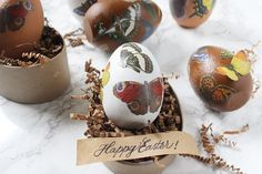 A fun twist on egg decorating