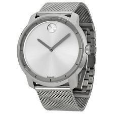 Share & Earn earn Bonus reward points toward fine jewelry New Movado Bold S... Check it out here! http://shirindiamond.net/products/new-movado-bold-silver-dial-stainless-steel-mesh-bracelet-mens-watch-3600260?utm_campaign=social_autopilot&utm_source=pin&utm_medium=pin