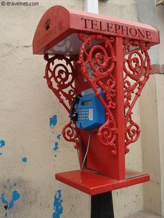 Gibraltar Telephone Box, © James Clark I used to use this exact phone to call my grandparents while i was out with friends. Telephone Booth, Vintage Telephone, London Phone Booth, Et Phone Home, Antique Phone, British Overseas Territories, Vintage Phones, Old Phone, Post Box
