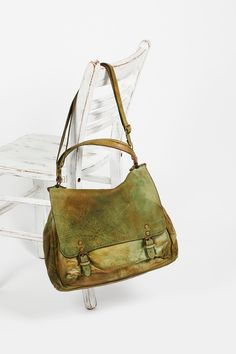 Leather messenger also by FP