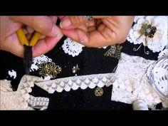 Shabby Chic Doily Butterfly Tutorial - jennings644