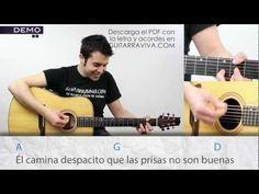 Soldadito Marinero acordes tutorial en guitarra de Fito Fitipaldis como tocar