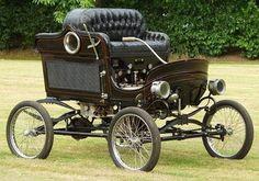 Cotxe de vapor Stanley Del 1901.