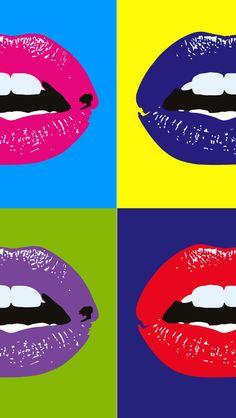 Uma imagem vale mais que mil palavras! Lip Wallpaper, Pink Wallpaper Iphone, Cute Wallpaper Backgrounds, Cellphone Wallpaper, Disney Wallpaper, Cute Wallpapers, Iphone Wallpapers, Pop Art Lips, Lip Art