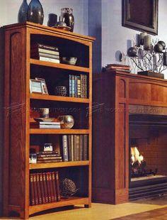 #2862 DIY Bookcase - Furniture Plans