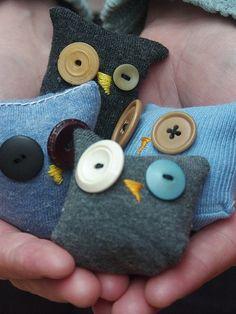 Sock owls.. Rice bags?