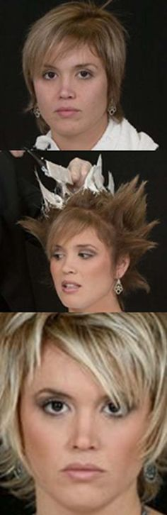 """HOW-TO: balayage mohawk """"Teased"""" Step-by-Step"""