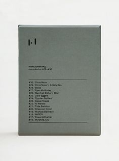 mono.archiv #02: mono.kultur #16-30