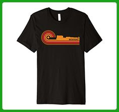 Mens Retro Style Natchitoches Louisiana Skyline T-Shirt 3XL Black - Retro shirts (*Amazon Partner-Link)